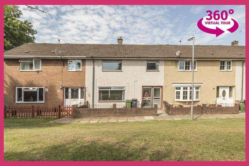 3 Bedrooms Terraced House for sale in Coed Cae, Cwmbran - REF # 00004634 View 360 Tour at http://bit.ly/2tZQQt6