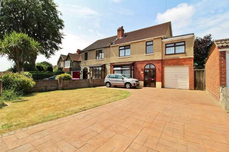 4 Bedrooms Semi Detached House for sale in Court Lane, East Cosham