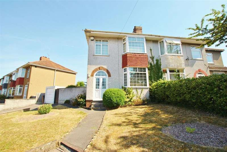 3 Bedrooms Semi Detached House for sale in Cadogan Road, Hengrove