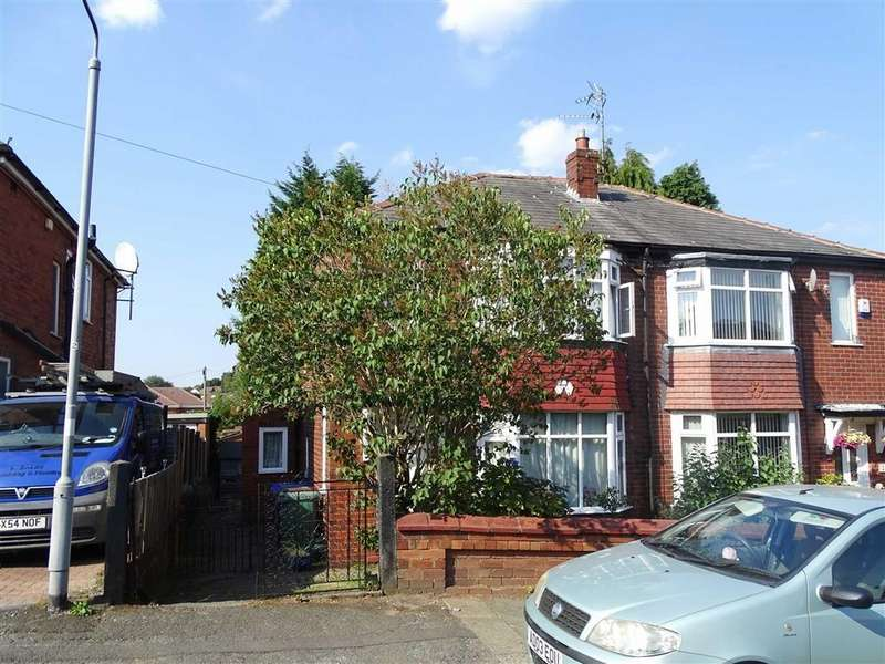 3 Bedrooms Semi Detached House for sale in Venwood Road, Prestwich, Prestwich Manchester