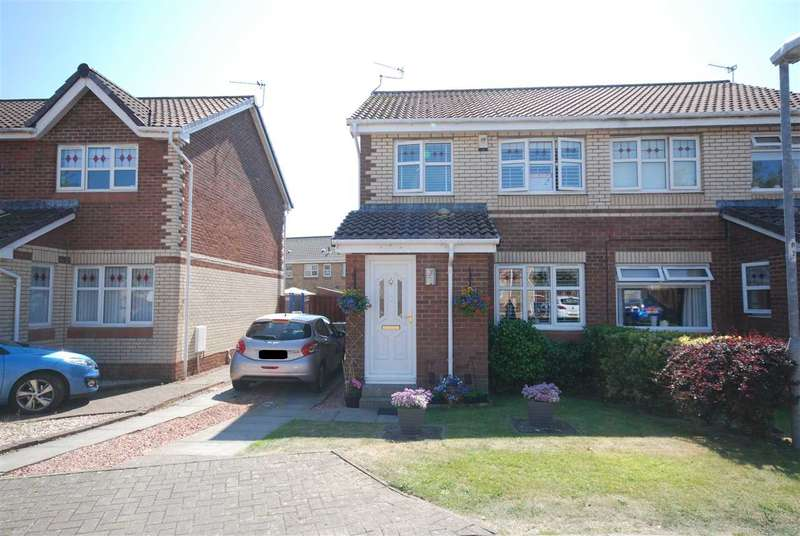 3 Bedrooms Semi Detached House for sale in Murdoch Court, Saltcoats