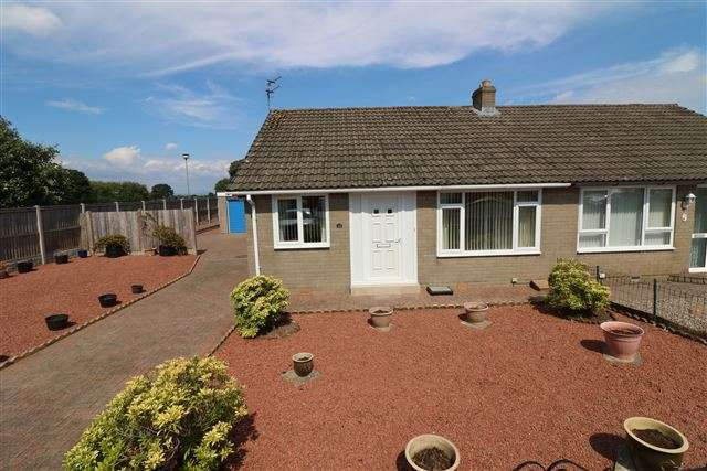 2 Bedrooms Bungalow for sale in Holmrook Road, Carlisle, Cumbria, CA2 7TG