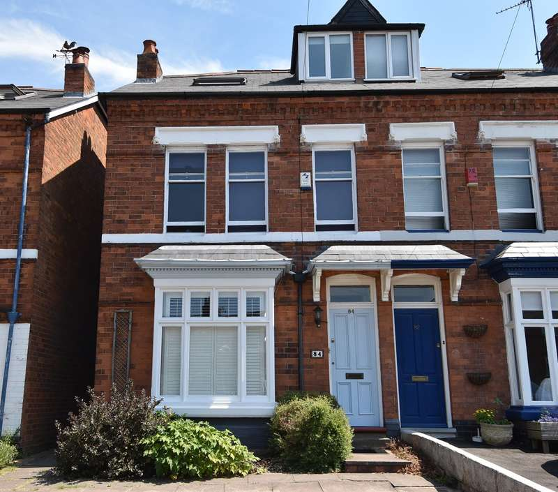 4 Bedrooms Semi Detached House for sale in Station Road, Kings Norton, Birmingham, B30
