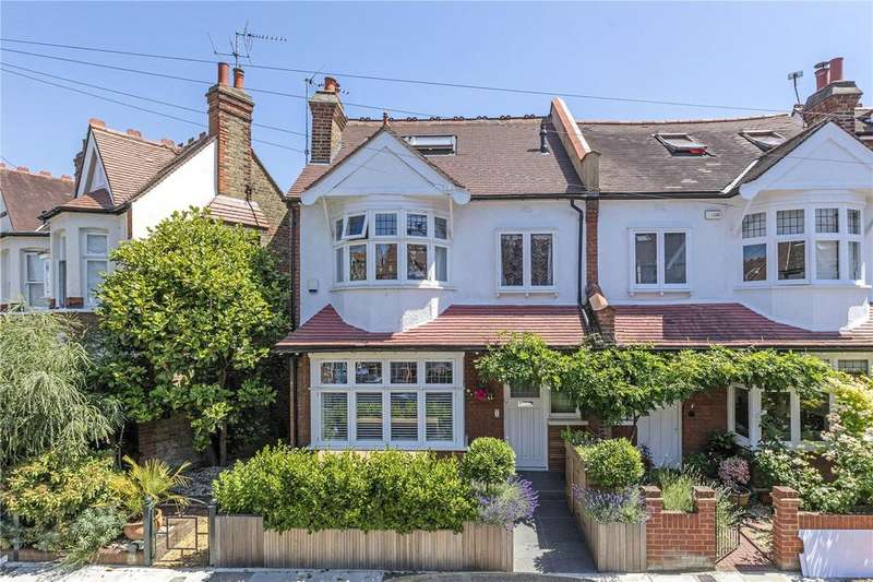 5 Bedrooms Semi Detached House for sale in Coval Road, London, SW14