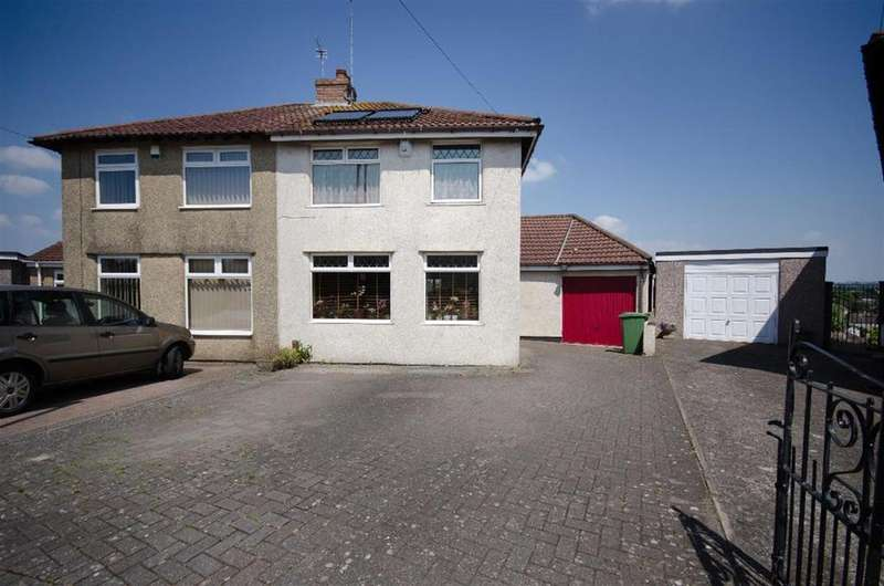 3 Bedrooms Semi Detached House for sale in Burley Crest, Bristol, BS16 5PR