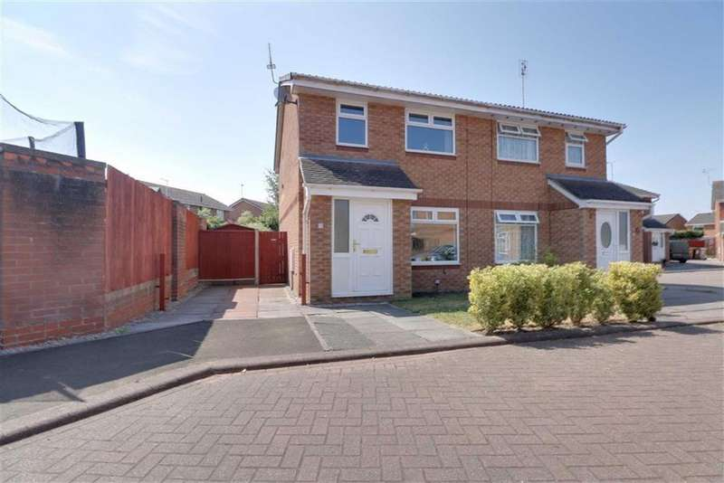 3 Bedrooms Semi Detached House for sale in Padworth Place, Leighton, Crewe