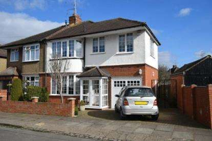 3 Bedrooms Semi Detached House for sale in Meadow Road, Luton, Bedfordshire