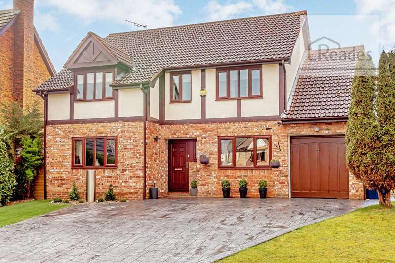 5 Bedrooms Detached House for sale in St. Andrews Close, Hawarden CH5 3