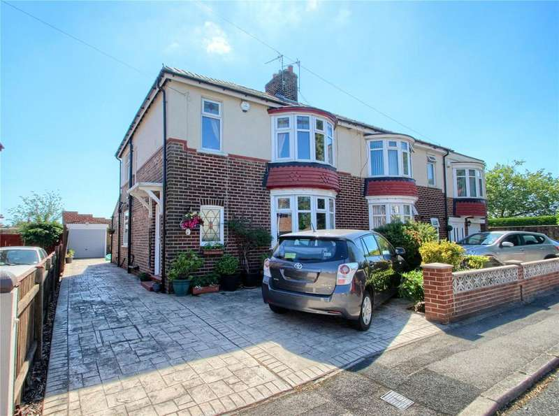 3 Bedrooms Semi Detached House for sale in Elmwood Grove, Stockton-on-Tees