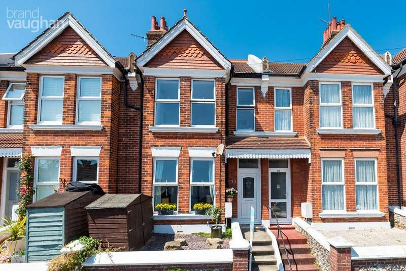 3 Bedrooms Terraced House for sale in Stanmer Park Road, Brighton, BN1