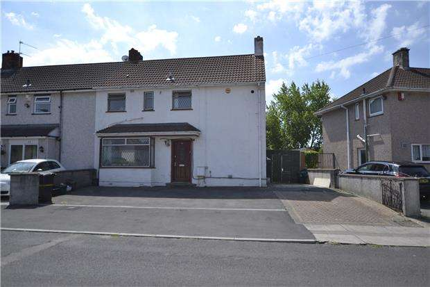 3 Bedrooms End Of Terrace House for sale in Ravenglass Crescent, Bristol, BS10 6ER