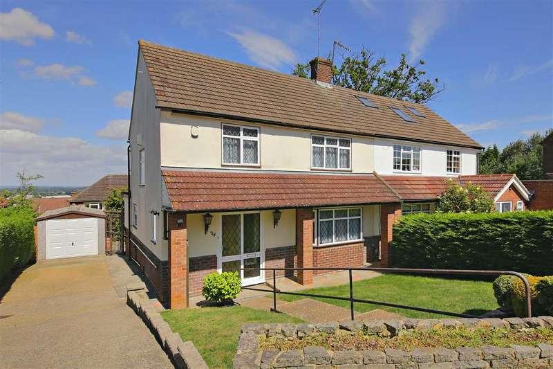 3 Bedrooms Semi Detached House for sale in Carrington Avenue, Borehamwood
