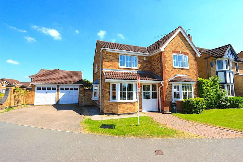 4 Bedrooms Property for sale in Pendragon Way, Leicester Forest East