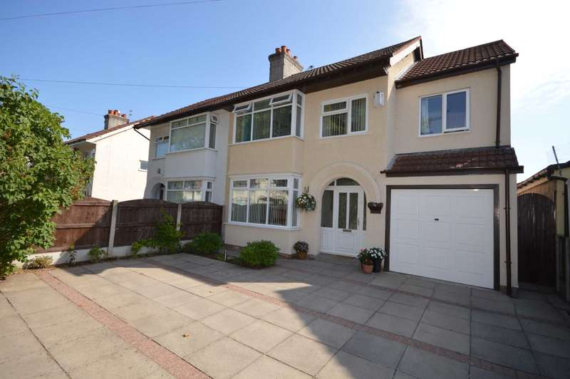 5 Bedrooms Semi Detached House for sale in Raeburn Avenue, Eastham
