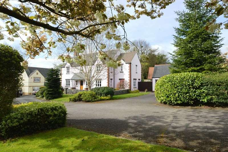 4 Bedrooms Detached House for sale in Mawsons Mead, St Nicholas, Vale of Glamorgan, CF5 6SX