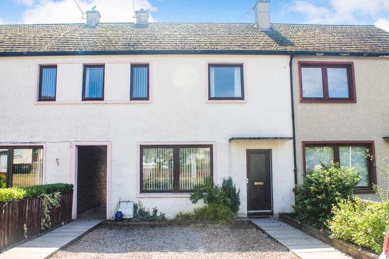 3 Bedrooms Terraced House for sale in Academy Crescent, Dingwall, IV15 9LW