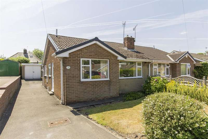 2 Bedrooms Semi Detached Bungalow for sale in Barholme Close, Upper Newbold, Chesterfield