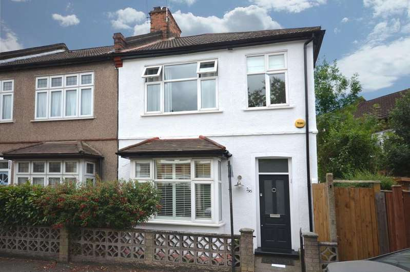 3 Bedrooms End Of Terrace House for sale in Leahurst Road Hither Green SE13