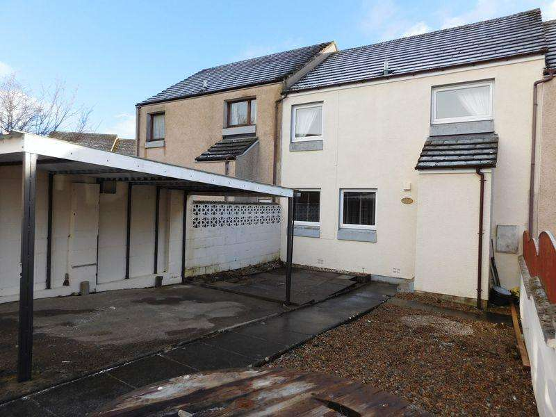 2 Bedrooms Terraced House for sale in 17 Lord Thurso Court, Thurso, Caithness, KW14 7SH