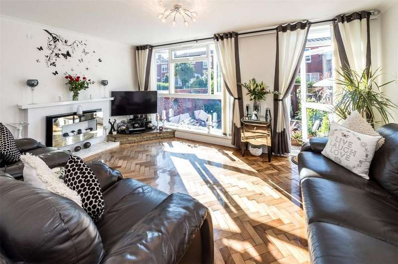 3 Bedrooms End Of Terrace House for sale in Coleridge Close, London, SW8
