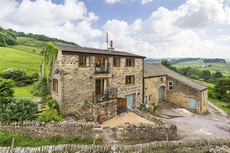 4 Bedrooms Detached House for sale in Oldfield Lane, Haworth, Keighley, West Yorkshire, BD22