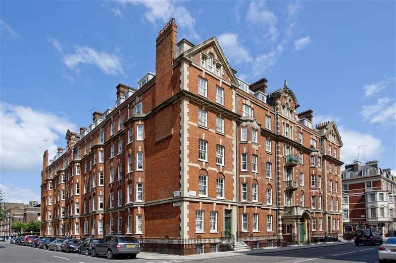3 Bedrooms Apartment Flat for sale in Cumberland Mansions, Brown Street, Marylebone, London, W1H