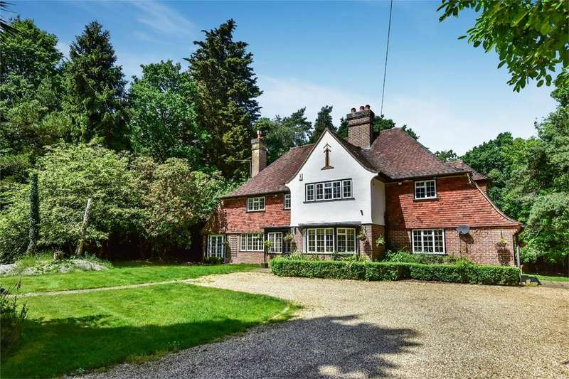 5 Bedrooms Detached House for sale in Green Lane, Chilworth, Southampton, Hampshire