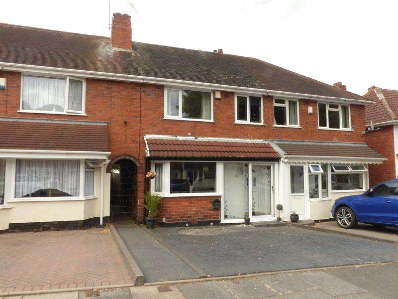 3 Bedrooms Terraced House for sale in Curbar Road, Great Barr