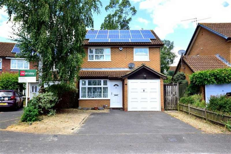 3 Bedrooms Detached House for sale in Doddington Close, Lower Earley, Reading