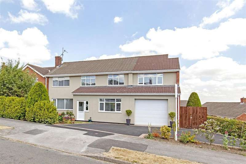 5 Bedrooms Detached House for sale in Wrenpark Road, Wingerworth, Chesterfield