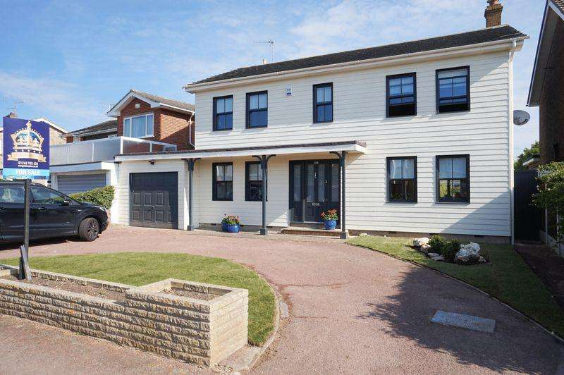 4 Bedrooms Detached House for sale in Burges Road, Southend-On-Sea