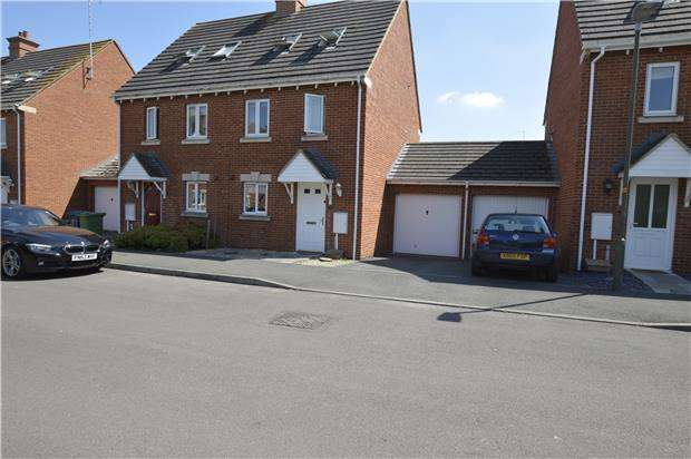 3 Bedrooms Semi Detached House for sale in Hanson Gardens, Bishops Cleeve, GL52