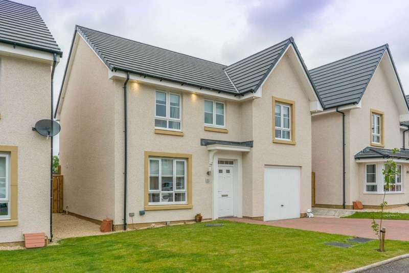 4 Bedrooms Detached House for sale in Templegill Crescent, Wishaw