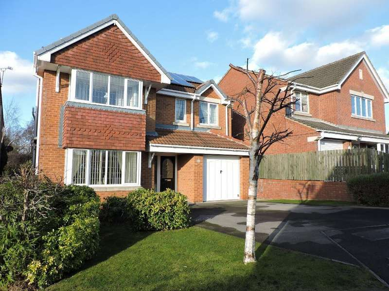 4 Bedrooms Detached House for sale in Windmill Court, Barnsley, South Yorkshire, S73 8PN