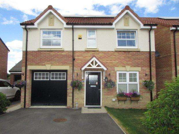 4 Bedrooms Detached House for sale in ABBEY GREEN, DURHAM GATE, SPENNYMOOR, SPENNYMOOR DISTRICT