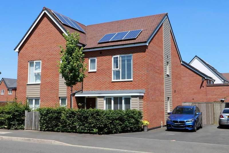 3 Bedrooms Semi Detached House for sale in Hemlock Road, Coalville