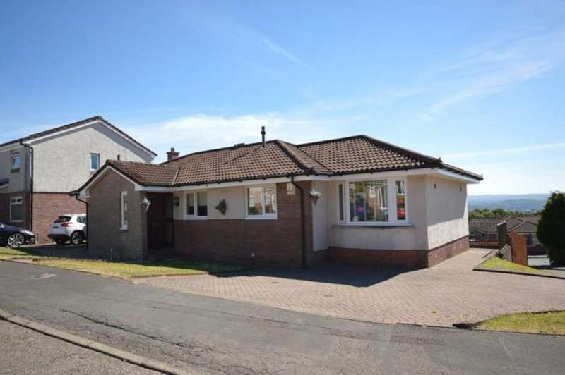 3 Bedrooms Detached Bungalow for sale in Broomhill Crescent, Beechwood, Alexandria G83 9QT