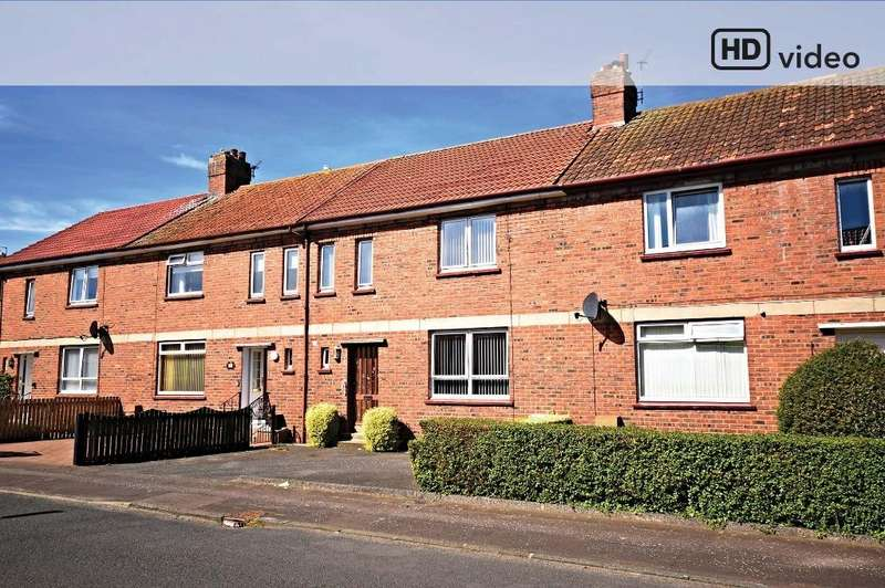 3 Bedrooms Terraced House for sale in Churchill Crescent, Ayr, South Ayrshire, KA8 0SG
