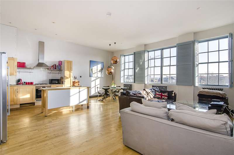 2 Bedrooms Flat for sale in Alpha House, 4 Beta Place, London, SW4