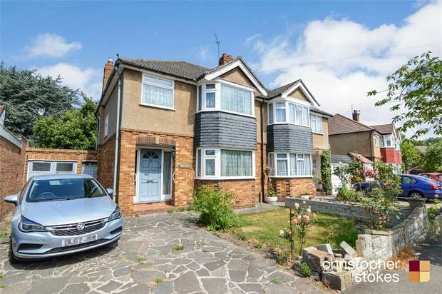 3 Bedrooms Semi Detached House for sale in Dudley Avenue, WALTHAM CROSS, Hertfordshire