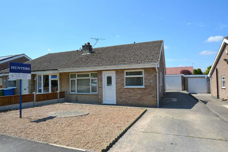 2 Bedrooms Semi Detached Bungalow for sale in Bamford Road, Inkersall, Chesterfield, S43 3DS