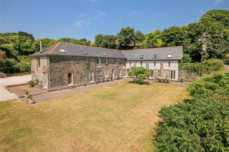 6 Bedrooms Barn Conversion Character Property for sale in Malborough, Kingsbridge, TQ7