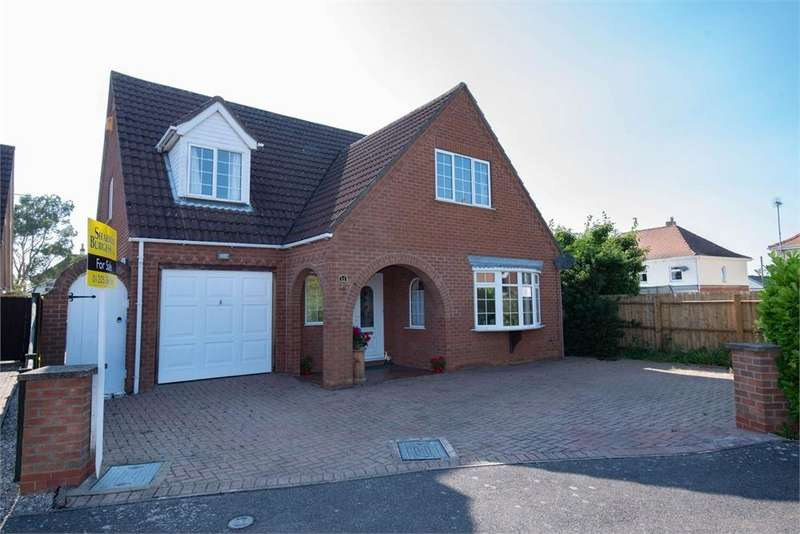 4 Bedrooms Detached House for sale in Lyn Ellis Close, Boston, Lincolnshire
