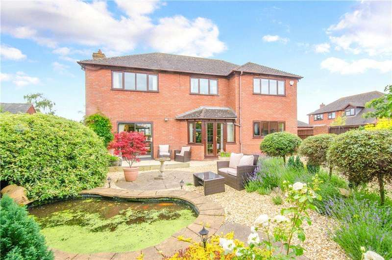 5 Bedrooms Detached House for sale in Orchard Close, Severn Stoke, Worcester, Worcestershire, WR8