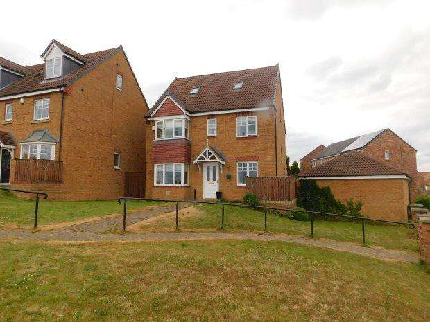 5 Bedrooms Detached House for sale in HILLSIDE ROAD, COUNDON, BISHOP AUCKLAND