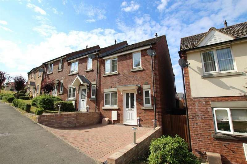 2 Bedrooms Terraced House for sale in Pidwelt Rise, Pontlottyn, Bargoed
