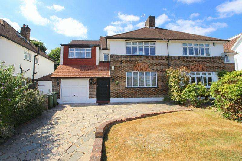 4 Bedrooms Semi Detached House for sale in Crown Woods Way, Eltham, SE9 2NL