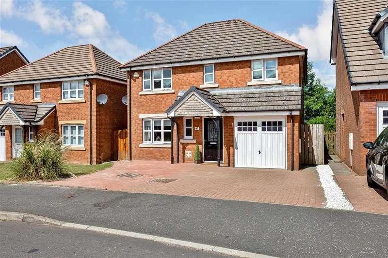 4 Bedrooms Detached House for sale in Polden Avenue, Lindsayfield, EAST KILBRIDE