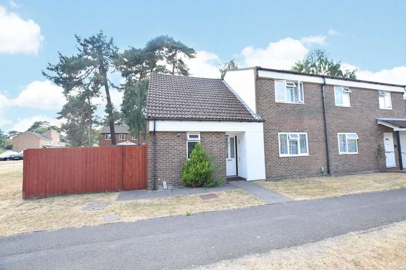 4 Bedrooms Semi Detached House for sale in Nuthurst, Bracknell, Berkshire, RG12