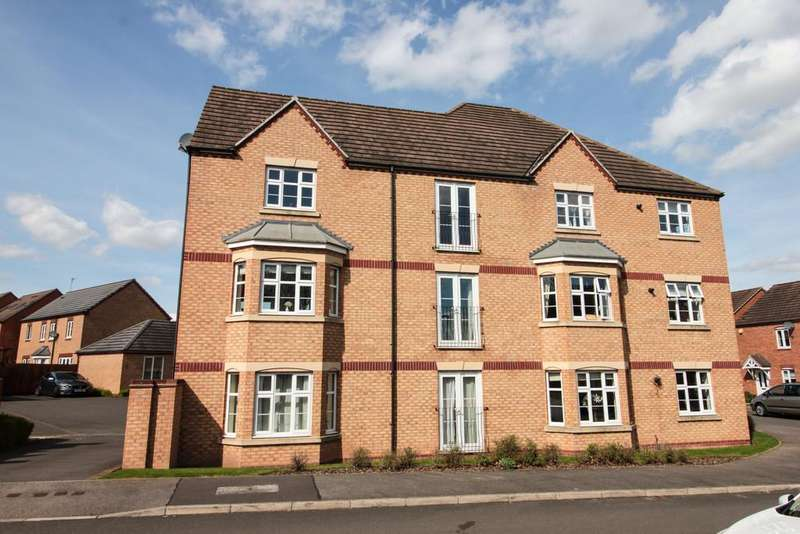 2 Bedrooms Flat for sale in Darwin Crescent, Loughborough